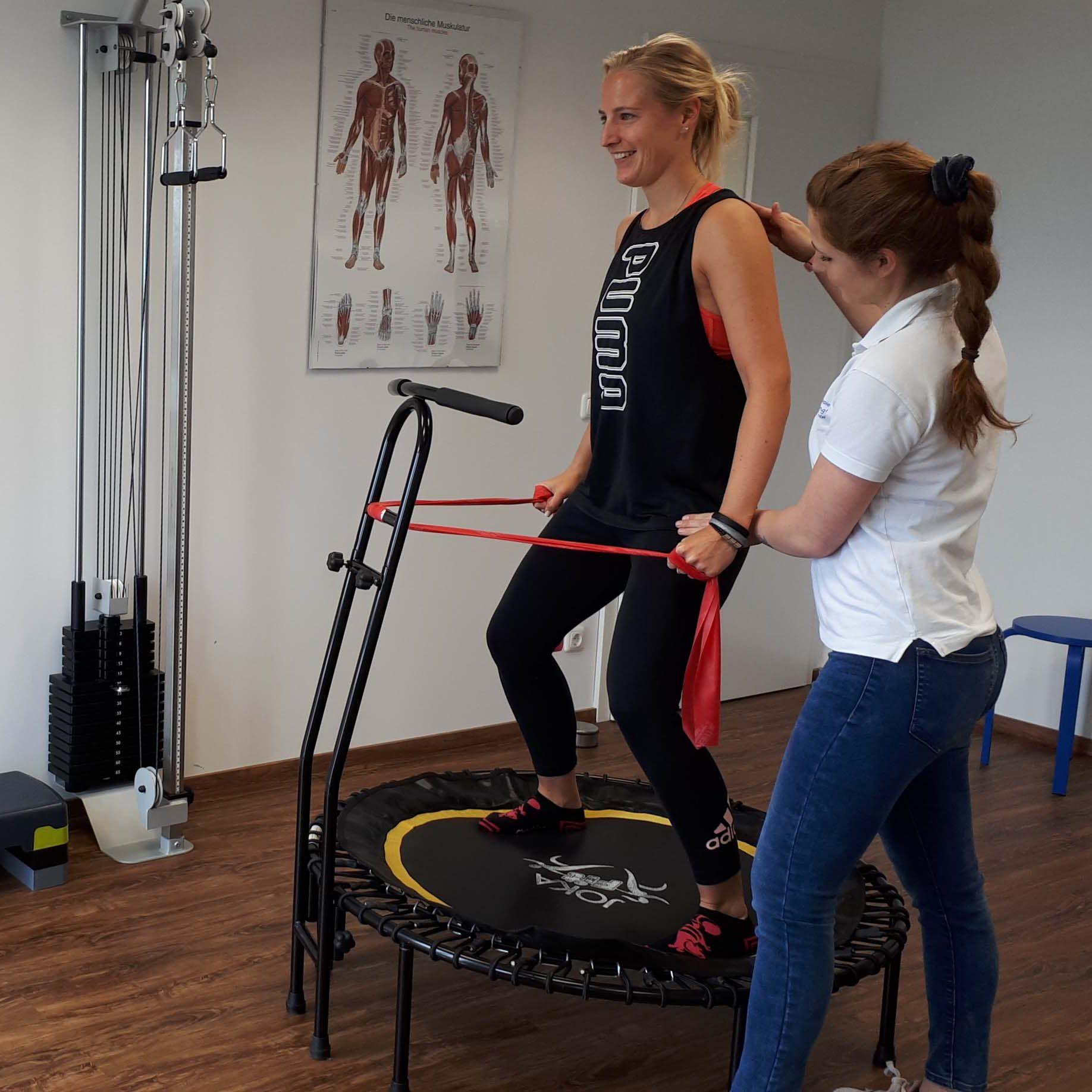 Krankengymnastik Physiotherapie Frei in Bewegung! Mülheim