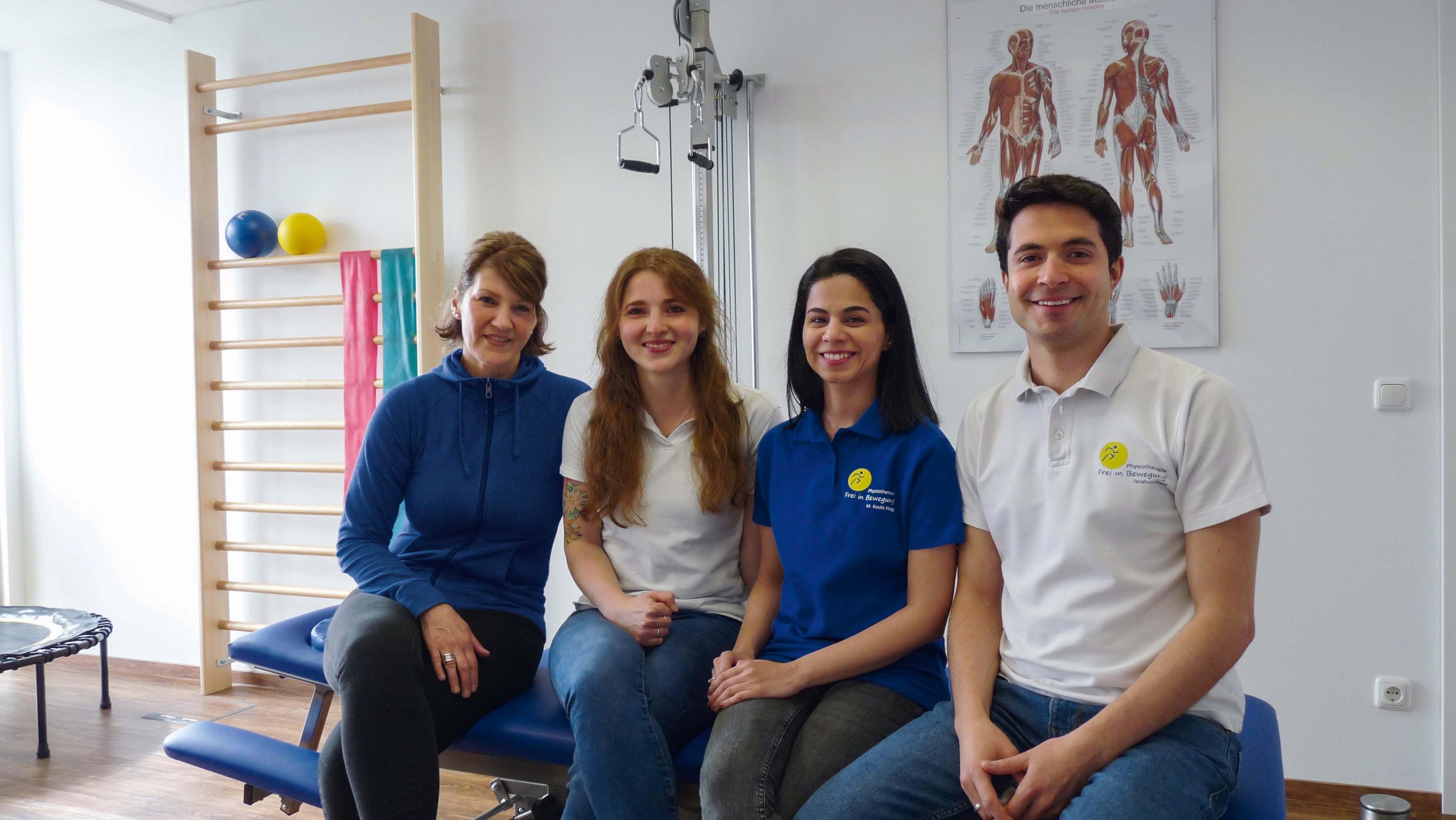 Team Physiotherapie Frei in Bewegung!